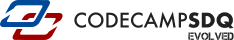 CodeCampSDQ: Evolved Mobile Logo